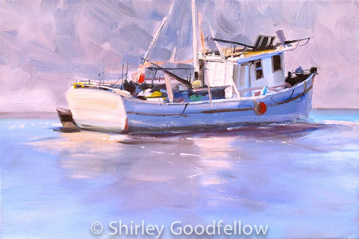 Derelict Boat-12x18